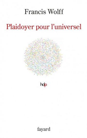 Couverture du livre : Plaidoyer pour l'universel